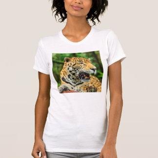 Jaguar shows its teeth, Belize T-Shirt