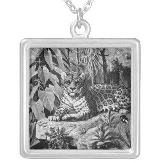Jaguar Silver Necklace
