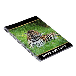 Jaguar Spiral Note Book