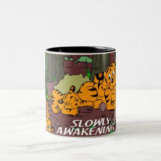 Jaguar Two-Tone Coffee Mug