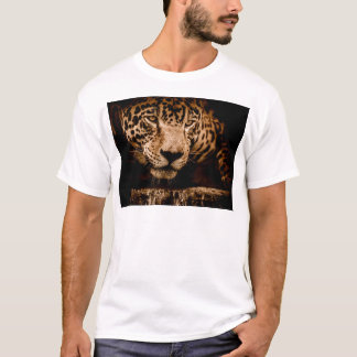 jaguar water stalking eyes T-Shirt