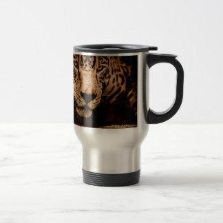 jaguar water stalking eyes travel mug