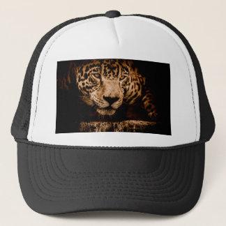 jaguar water stalking eyes trucker hat