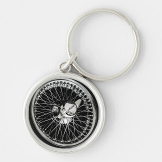 Jaguar Wheel Keychain