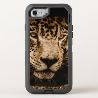 Jaguar Wild Animal Big Cat Face Eyes Photograph OtterBox Defender iPhone 8/7 Case