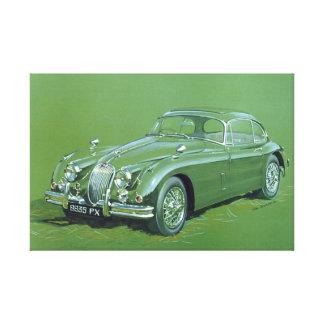 Jaguar XJ120 Canvas Print