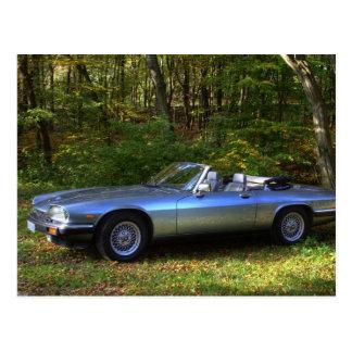 Jaguar XJS V12 Cabriolet Postcard