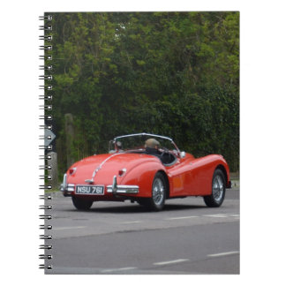 Jaguar XK140 Note Books