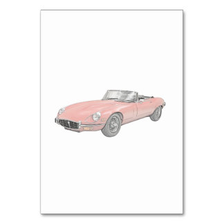 Jaguar XKE 1972 Card