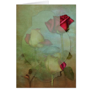 "Jaguarwoman's ""Summer Roses Card"" Card"