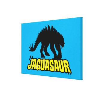 Jaguasaur Canvas Print