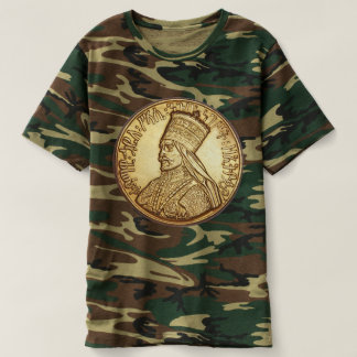 Jah Army - Rastafari - Haile Selassie - shirt