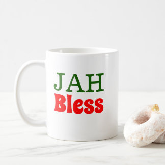 Jah Bless Rasta Lion Coffee Mug