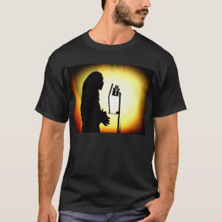 Jah-I-WItness Emcee Vocal Booth Silhouette Tee