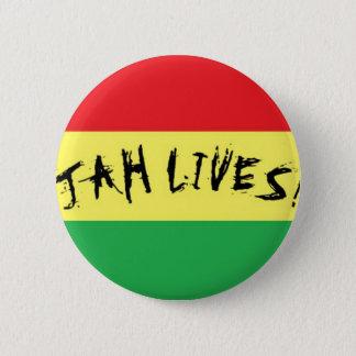 Jah Lives! 2 Inch Round Button
