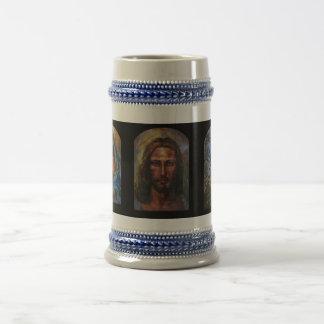JAH MARIA, JAH JESUS, JAH OLIVE 1 COFFEE MUG