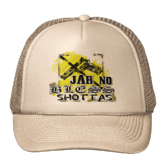 """Jah no bless shottas"" Trucker Hat"