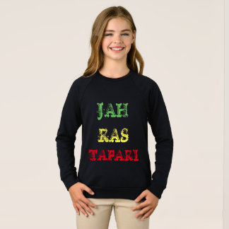 JAH RAS TAFARI kids long sleeve shirt