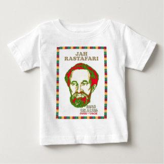 Jah Rastafari Haile Selassie Warrior Emperor Baby T-Shirt