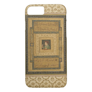 Jahangir holding a picture of the Madonna, inscrib iPhone 7 Case