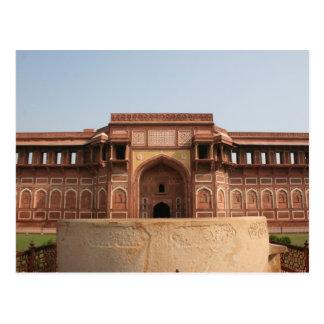 Jahangiri Mahal Red Fort Agra India Postcard
