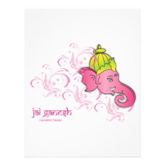 Jai Ganesh Elephant Designs Letterhead