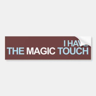 J'ai le contact magique autocollant de voiture
