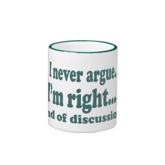 J'ai raison tasses à café