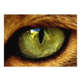 J'ai reçu à mon oeil sur vous l'invitation de lion carton d'invitation  12,7 cm x 17,78 cm