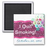 J'ai stoppé le tabagisme ! magnets pour réfrigérateur