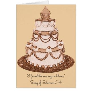 J'ai trouvé celui mon âme Loves~Scripture~Wedding Carte De Correspondance