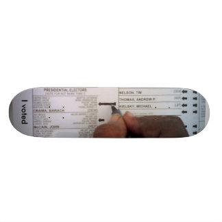J'ai voté Obama Skateboard 20,6 Cm