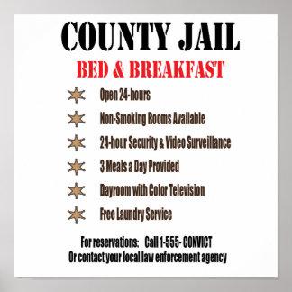 Jail B&B Print