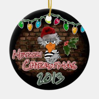 Jailbird Christmas Ornament