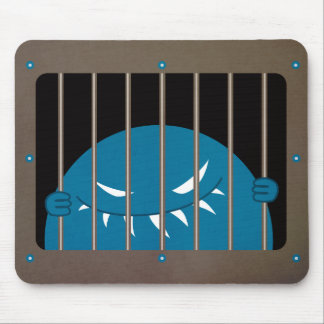 Jailed Kingpin Evil Monster Mouse Pad