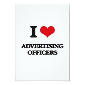J'aime annoncer des dirigeants carton d'invitation 8,89 cm x 12,70 cm