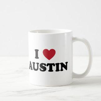 J'aime Austin Mug Blanc