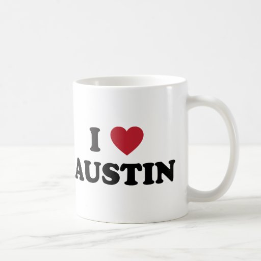 J'aime Austin Tasses