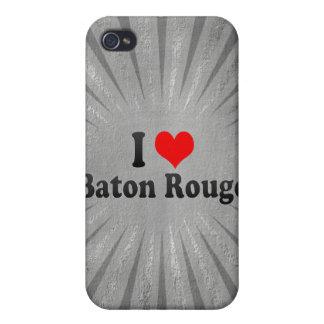 J'aime Baton Rouge, Etats-Unis Coque iPhone 4 Et 4S