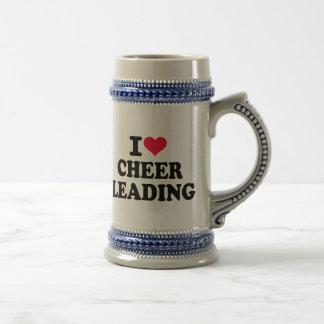 J'aime cheerleading mug