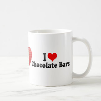 J'aime des barres de chocolat mugs