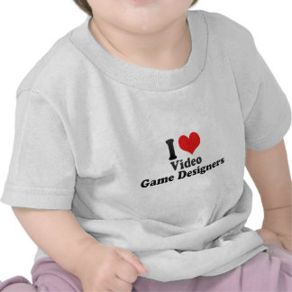 J'aime des concepteurs de jeu vidéo t-shirts