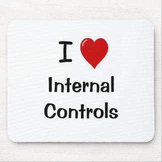 J'aime des contrôles internes - citation drôle de  tapis de souris