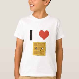 J'aime des gaufres t-shirt