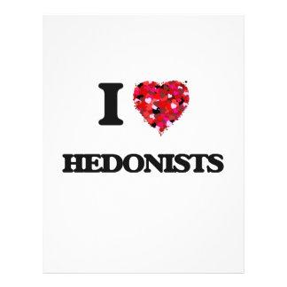 J'aime des hédonistes prospectus 21,6 cm x 24,94 cm