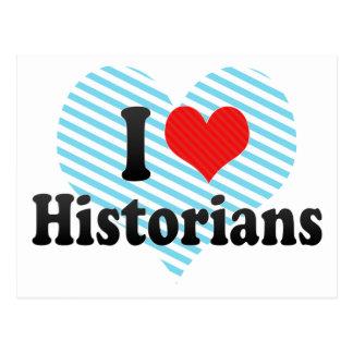 J'aime des historiens cartes postales