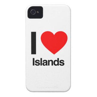 j'aime des îles étui iPhone 4