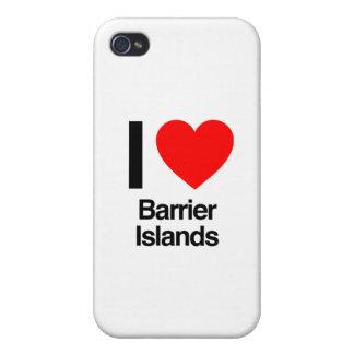 j'aime des îles de barrière coques iPhone 4