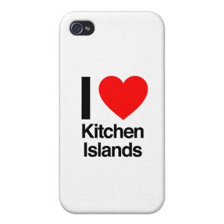 j'aime des îles de cuisine coque iPhone 4 et 4S