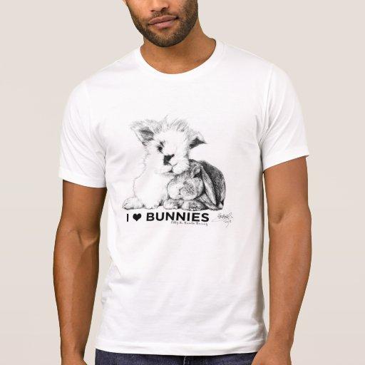 J'aime des lapins t-shirt